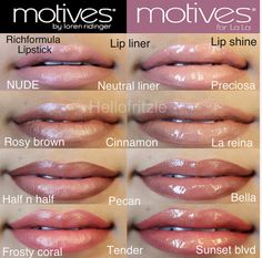 Get the Look with Motives!  All Motives products available at www.shop.com/cashback24