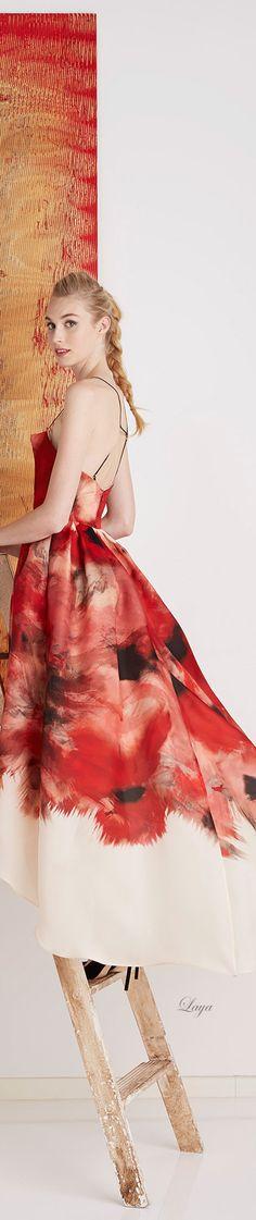 Lela Rose Pre-Fall 2015 Fashion and Designer Style Couture Fashion, Runway Fashion, High Fashion, Fashion Show, Fashion Design, Gala Dresses, Event Dresses, Nice Dresses, Floral Dresses