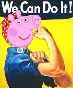 Accused: Peppa Pig, a tool for dangerous feminist left-wing propaganda. on http://www.mamamia.com.au