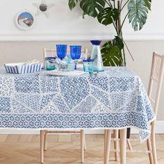 GEOMETRIC PRINT TABLECLOTH AND NAPKIN - Tablecloths & Napkins - Tableware | Zara Home United States