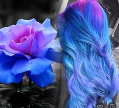 Beautiful ombre colors!
