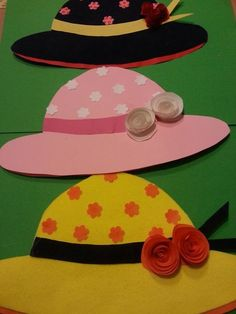 New origami paper mothers Ideas Origami Paper Art, Diy Paper, Paper Crafts, Craft Activities, Preschool Crafts, Origami Wedding Invitations, Diy And Crafts, Crafts For Kids, Hat Decoration