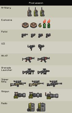 Pixel Weapon on Behance