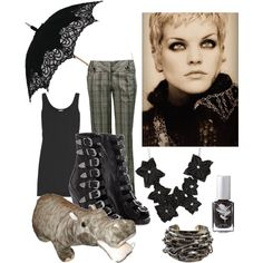 """I want the hippo! """"Pauley Perrette as Abby Sciuto"""" by katedresdner on Polyvore"""