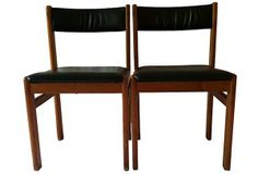 Pair of Danish Mod Mobler Chairs