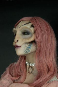 How To Sculpt & Mould Silicone Prosthetics....because we all need to know how to do this...