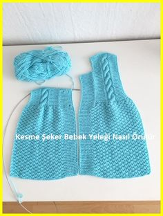 Baby Cardigan, Knit Baby Dress, Knitting For Kids, Baby Knitting Patterns, Sugar Baby, Baby Bikini, Crochet Baby, Knitted Hats, Clothes