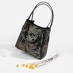 dae7e9c9188e Классическая сумка Tony Bellucci 151 black gold paisley