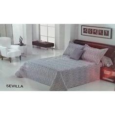 Dolz colcha bouti estampada mod. Sevilla con cuadrantes cama de 135
