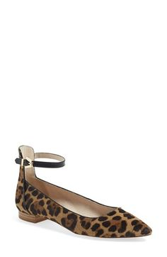 Louise et Cie 'Barry' Ankle Strap Flat (Women) (Nordstrom Exclusive) available at #Nordstrom