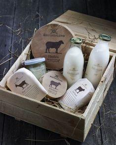 danish dairy line. like the white deli paper, burnt wood and classic feel.: