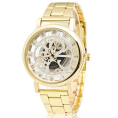 Luxury Boys Stainless Steel Pointer Quartz Wrist Watch
