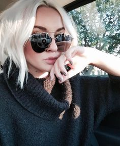 #freepeople sweater + #dior sunnies