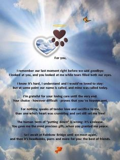 """I love this poem, but changed the last line, since my BFF was my dog, Bear. """"You and I will forever be the best of friends. Dog Quotes, Animal Quotes, Dog Sayings, Chihuahua Quotes, Animal Poems, I Love Dogs, Puppy Love, Pet Poems, Pet Loss Grief"""