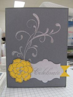 This project is made with the Shimmer Paint from Stampin' UP!. Check out my blogg at http://dutches-carla.blogspot.com/