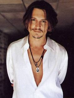 Johnny Depp.... I remember when this GQ came out.... and I bought it.... and hung up the pictures in my room. YES.