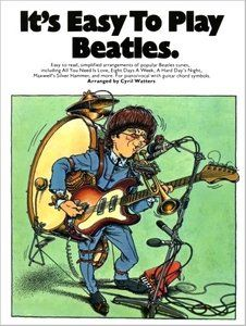 It's Easy To Play Beatles (Piano, Vocal) by Cyril Watters