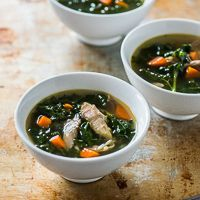 Healthy Turkey Soup Recipe with Kale - Easy 30 Minute Recipe