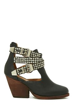 Jeffrey Campbell Watson Buckle Leather Boot at Nasty Gal