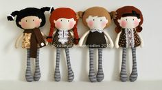 "Cook You Some Noodles | The Home of My Teeny-Tiny Dolls® – 11"" Handmade Fashion Dolls"