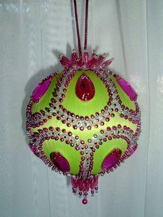 Admirable Beaded Christmas Ornaments Christmas Ornament And Ornaments On Easy Diy Christmas Decorations Tissureus
