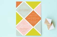 Modern Momma Baby Shower Invitations by Lauren Chi... | Minted