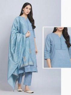 Silk Kurti Designs, Simple Kurta Designs, Salwar Designs, Kurta Designs Women, Blouse Designs, Dress Designs, Indian Gowns Dresses, Indian Fashion Dresses, Indian Designer Outfits