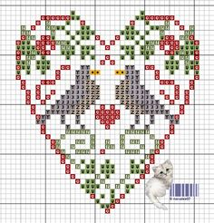 Grille n°99 Un petit challenge créatif en mars ? - Point De Croix Scrap Crochet Photos ... novalee02