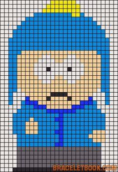 Craig Tucker South Park perler bead pattern