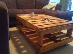 Pallet wood coffee table by JaysWood on Etsy, $200.00