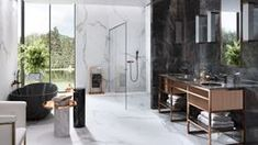 Galeria łazienek - zdjęcia, gotowe projekty - Domni.pl Divider, Loft, Furniture, Home Decor, Decoration Home, Room Decor, Lofts, Home Furnishings, Home Interior Design
