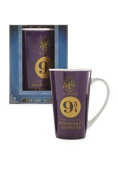 Primark - Mug Harry Potter Harry Potter Merchandise, Harry Potter Love, Harry Potter Books, Tea Gifts, My Cup Of Tea, Deco Table, Tea Mugs, Mug Cup, Coffee Cups