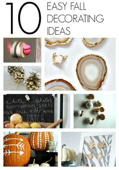 10 Fall Decorating Ideas to Try