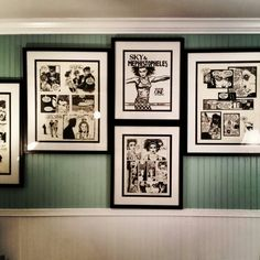 The study#5 Bsl, Beach Cottages, Gallery Wall, Study, Frame, Home Decor, Picture Frame, Studio, Decoration Home