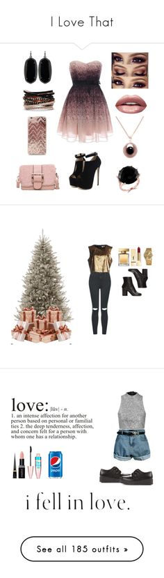 """""""I Love That"""" by parkjulia1994 ❤ liked on Polyvore featuring WithChic, Forever 21, Effy Jewelry, Huda Beauty, Kendra Scott, Topshop, Nineminutes, Martha Stewart, Dolce&Gabbana and Yves Saint Laurent"""