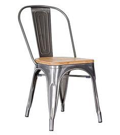 44W x 59.5D x 83 cm  Seat Height: 47 cm  Frame: steel  Seat: bamboo board