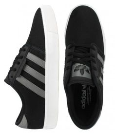 Adidas Seeley Shoes - Black/Mid Cinder/Running White $59.00 #adidas #seeley