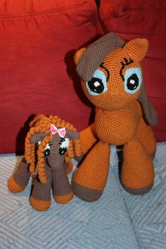 Ponys Mutter und Kind <3 Tweety, My Little Pony, Rid, Crochet Patterns, Facebook, Shop, Handmade, Fictional Characters, Inspiration