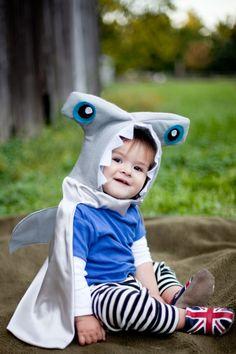 Hammerhead Shark Cape Costume