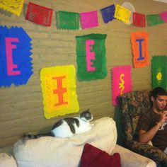 Fiesta decorations!