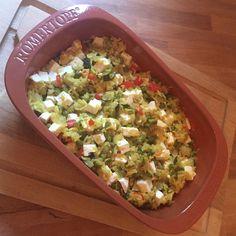 Lieblingsessen #4: Gemüsereis im Römertopf (mit Verlosung) Pampered Chef, Dutch Oven, Clay Pots, Going Vegan, Guacamole, Diet Recipes, Mexican, Meals, Ethnic Recipes