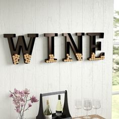 Continue Reading The 55 best Wine Cork Holder Wall Decor To Inspiring Designers. Gifts For Wine Lovers, Wine Holder For Wall, Wine Wall Art, Wine Wall, Cool Walls, Wine Decor, Wine Cork Wall Decor, Farmhouse Wall Decor, Wine Wall Decor
