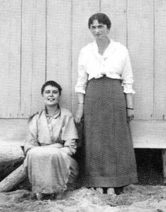 The rare of Grand Duchess Olga and her friend Ritka now in better quality and absent watermark!