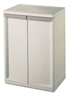 Heavy duty cabinet in minutes without the aid of tools. -Doors swing open easily, close securely, and can accommodate a padlock. -Each unit has rugged shelves that can be adjusted to multiple heights and comfortably hold up to 40 lbs each. -Platinum. Get it NOW for 49$ http://www.amazon.com/gp/product/B001BMN0CQ/ref=as_li_qf_sp_asin_il_tl?ie=UTF8&camp=1789&creative=9325&creativeASIN=B001BMN0CQ&linkCode=as2&tag=youlolscom-20&linkId=RCLSQFE5THR5IBMX