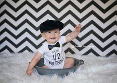 Hey, I found this really awesome Etsy listing at https://www.etsy.com/listing/288612587/boys-half-birthday-onesie-happy-6-months