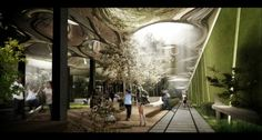 New York: James Ramsey and Dan Barasch are asking people to start looking down. James Ramsey's vision to transform the abandoned Williamsburg Bridge Trolley Terminal into a subterranean park filled with sunlight and lush vegetation is gaining international attention and support.