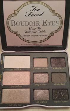 Too Faced Boudoir Eyes Makeup Palette~ Raquelaluv