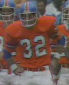 Running back JON KEYWORTH (32)--September 16, 1979. Jon was a popular Bronco during the heyday of the Red Miller years !!