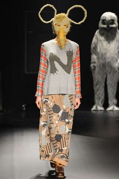 Quirky Childlike Couture - The Ne-net Spring 2013 Collectio