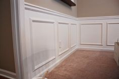 Dining Room-Wainscotting
